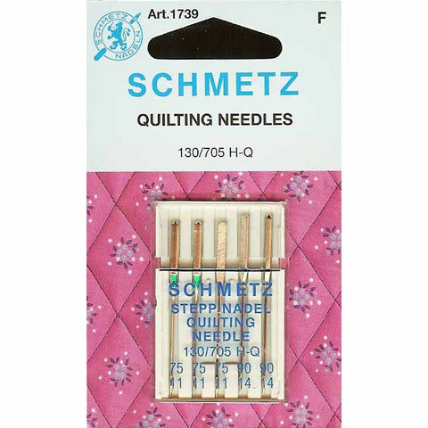 Schmetz Quilting Needle Pack - Mixed