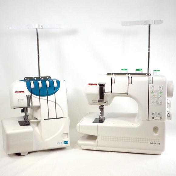 Four-DLB Serger and CoverPro 900CPX Package