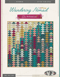 Stitch Your Style: Wandering Nomad - Sew Bohemian - PDF Quilt Pattern