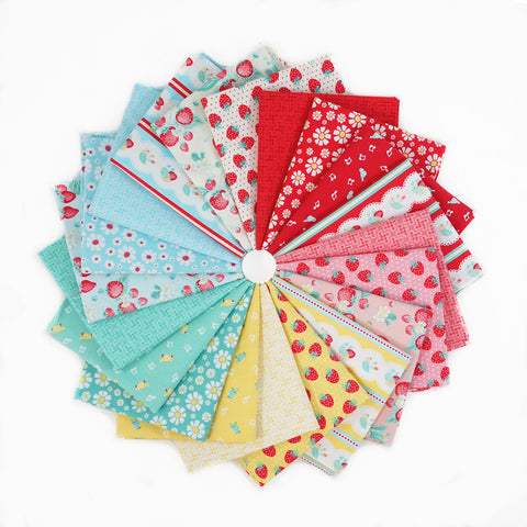 Shabby Strawberry - Fat Quarter Bundle