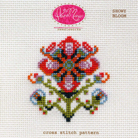 Showy Bloom - Printed Pattern