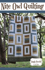 Simply Pieceful - PDF Quilt Pattern by Nite Owl Quilting