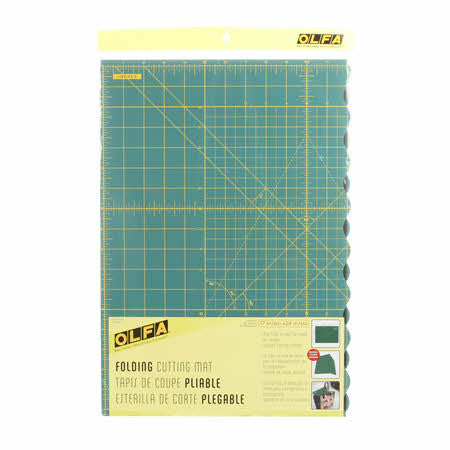Folding Cutting Mat 17in x 24in