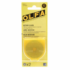 Olfa - 45mm Rotary Cutter Blade - 2 Blades from Cutting Tools for Olfa
