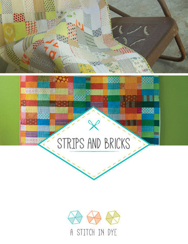 Strips and Bricks - PDF Quilt Pattern