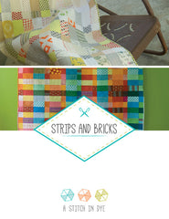 Strips and Bricks - PDF Quilt Pattern by Stitch In Dye