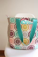 Super Tote – Paper Accessory Pattern by Noodlehead Patterns