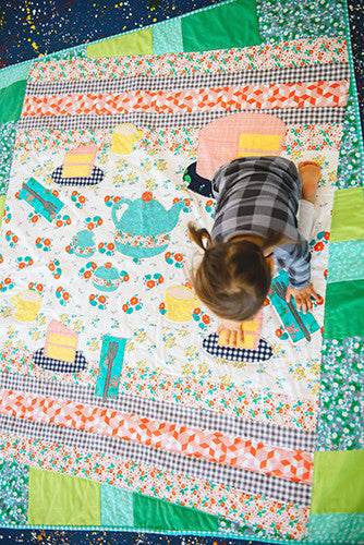 Maribel's Tea Party Quilt Pattern