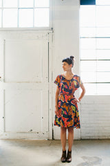The Date Night Dress by April Rhodes Sewing Patterns