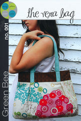 The Vera Bag - Printed Accessory Bag by Green Bee Patterns