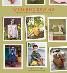 Weekend Sewing by Heather Ross from Cozy Christmas by Tula Pink for Stash Books
