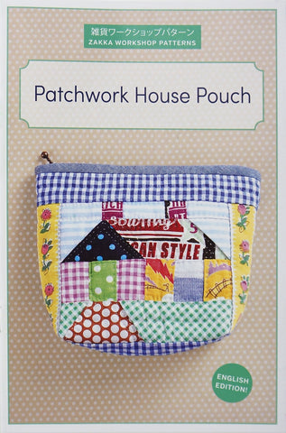 Patchwork House Pouch - Accessory Pattern
