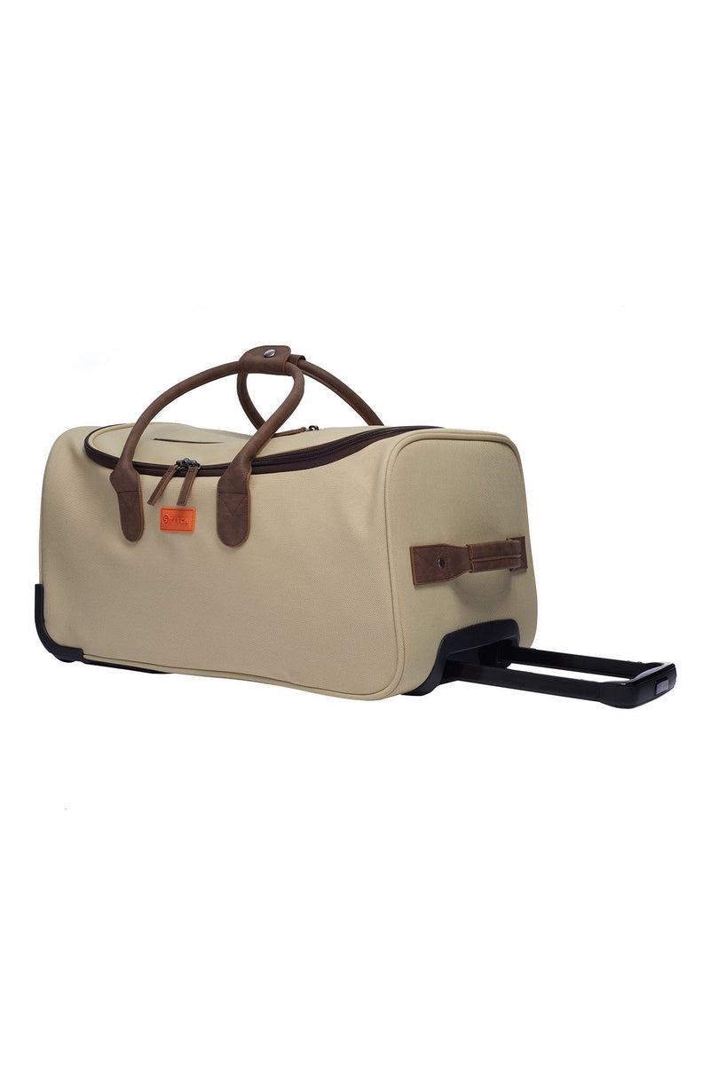 roller duffle | sand