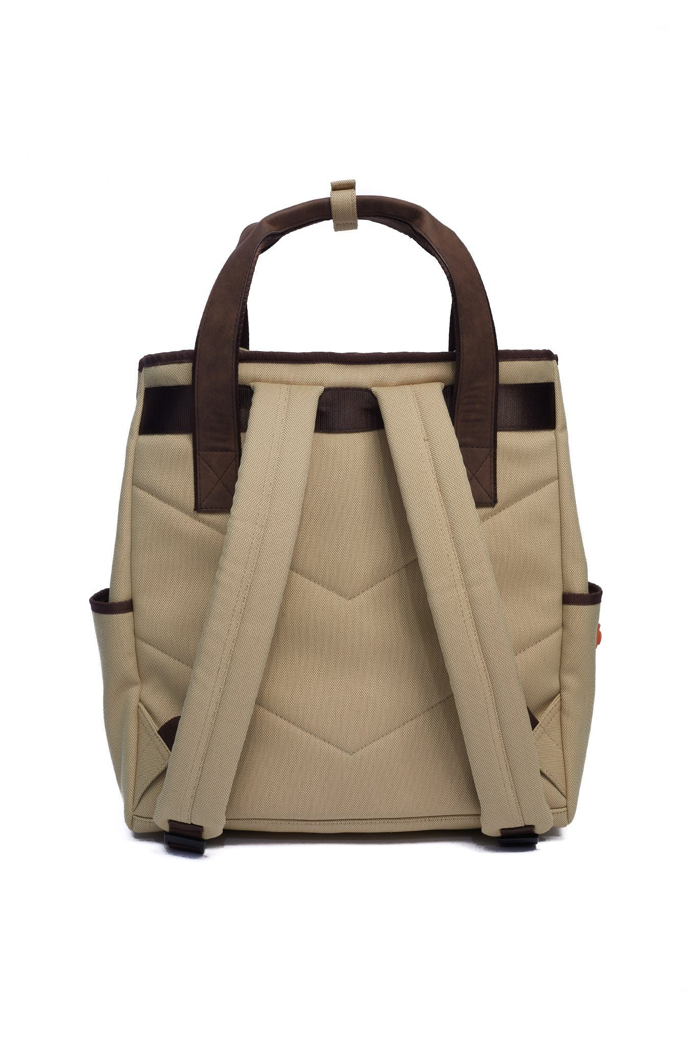 Vintage Luxe Tote Backpack