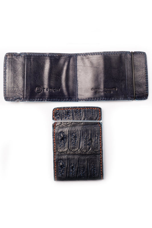 Caimin Alligator Leather Wallet