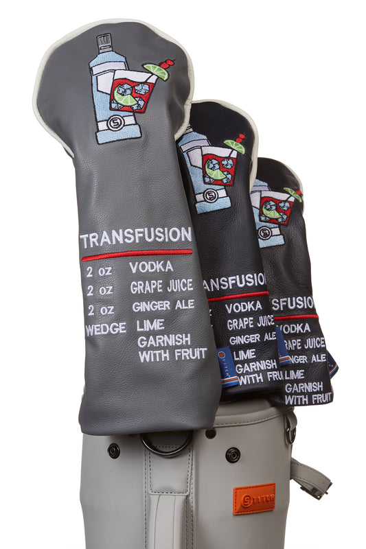 Transfusion Leather Headcover Set