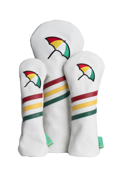 Arnold Palmer Leather Head Cover Set