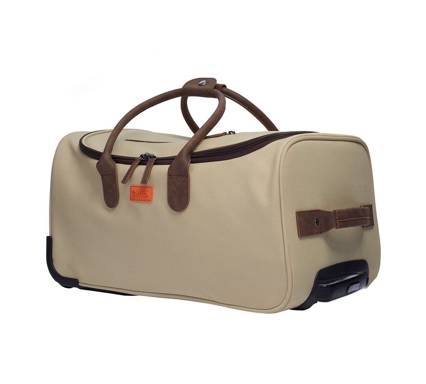 Vintage Luxe Roller Duffle Bag