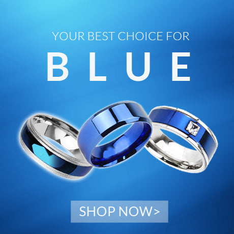 Your Best Choice For Blue Rings