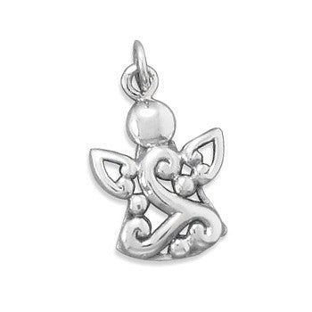 My Little Angel - Cute Sterling Silver Angel Crafted Pendant
