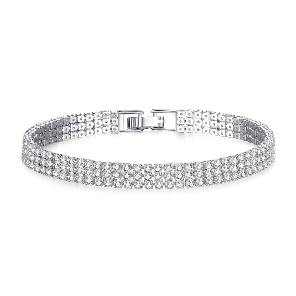 Royal Highness Tennis Bracelet - An Elegant CZ Tennis Bracelet