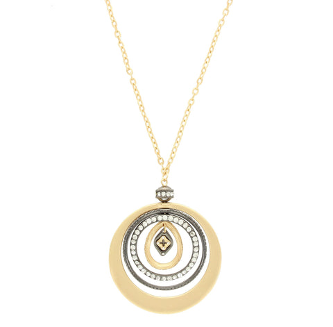 Olivia Welles - Amberly Pendant Necklace