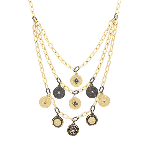 Olivia Welles - Luella Coin Necklace
