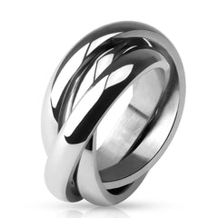 Trinity Band - Classic Triple Band Ring