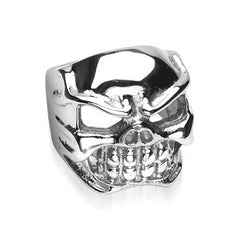 Dead Darling - FINAL SALE Rocker Biker Dangerous Style Stainless Steel Ring