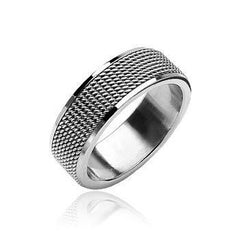 Fifth Avenue - FINAL SALE Finely Crafted Stainless Steel Comfort Fit Ring