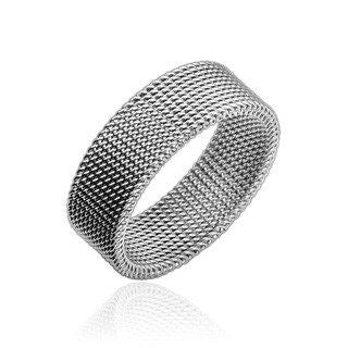 f0f04a44c Summerset Ring - Sleek and Sophisticated Design Stainless Steel Flexible  Screen Ring