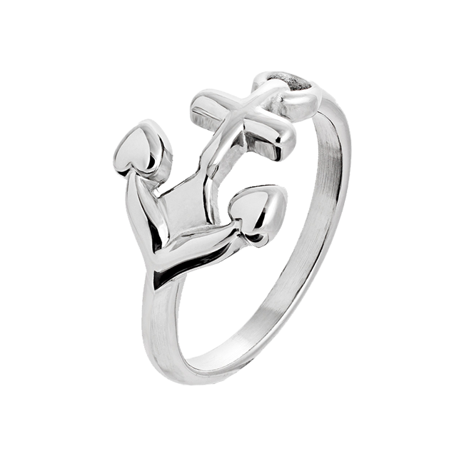Refuse To Sink - Stainless Steel Anchor Ring