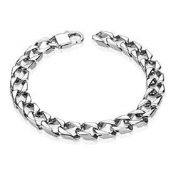 Necessity - Thick Square Stainless Steel Men's Bracelet