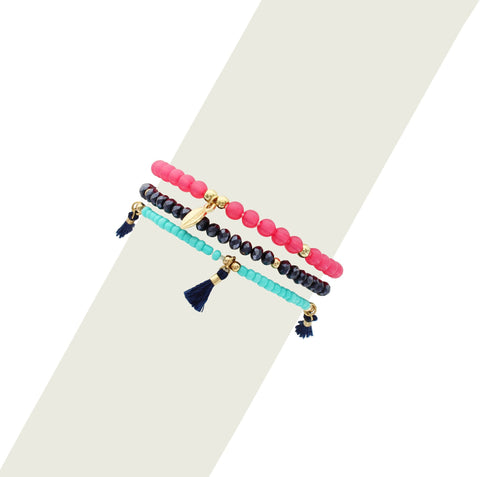 Olivia Welles - Beads and Treasures Bracelet
