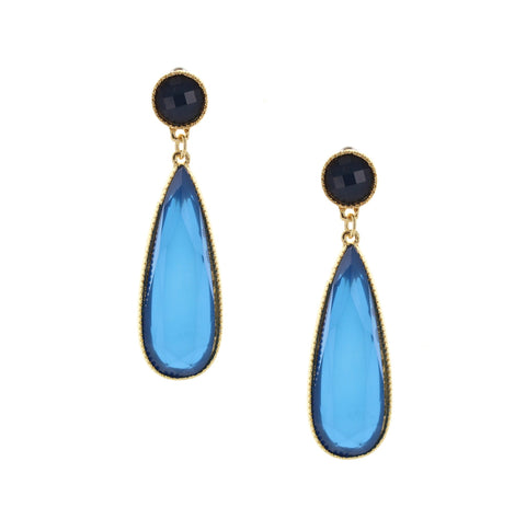 Olivia Welles - Midnight Memory Earrings
