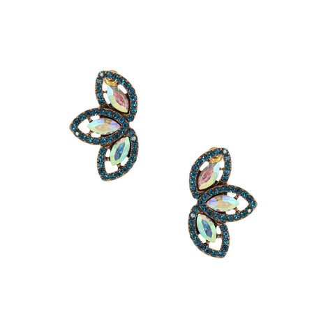 Olivia Welles - Dana Crystal Earrings