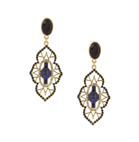 Olivia Welles - Shayla Cutout Earrings