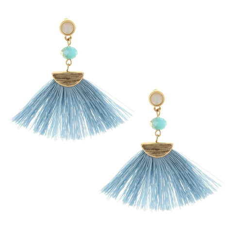 Olivia Welles - Beach Fan Earrings