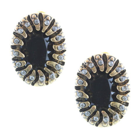 Olivia Welles - Trista Crystal Earrings