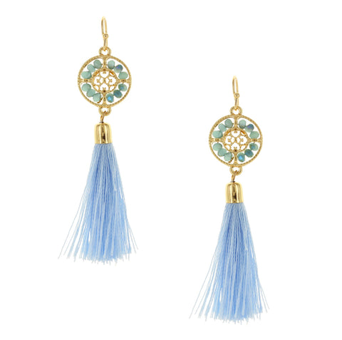 Olivia Welles - Zoe Tassel Earrings
