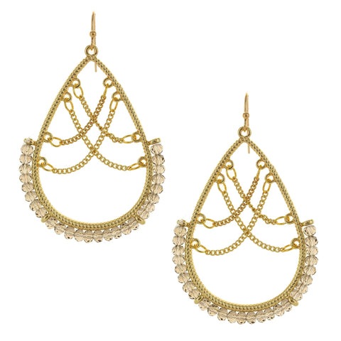 Olivia Welles - Brielle Chain Earrings