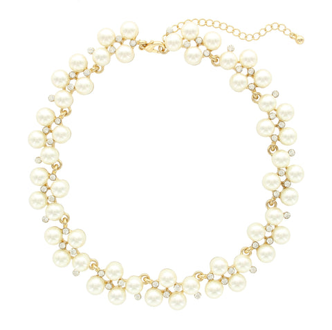 Olivia Welles - Perfect Pearls Necklace