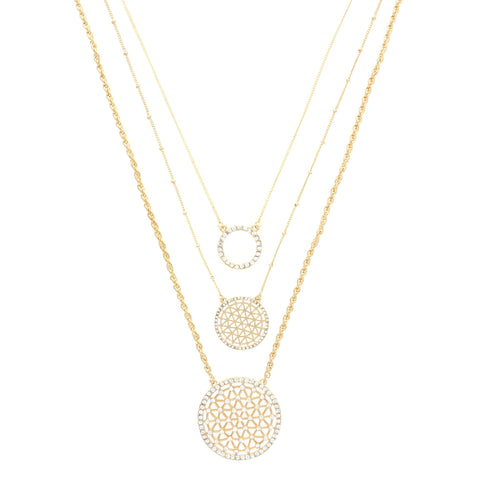 Olivia Welles - Gleaming Layers Necklace