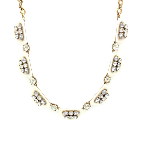 Olivia Welles - Irene Crescent Necklace