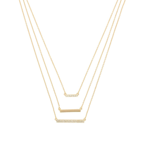 Olivia Welles - Hannah Bars Necklace