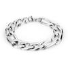 Zeus Chain Bracelet - Stainless Steel Small and Large Link Chain Bracelet with Lobster Clasp