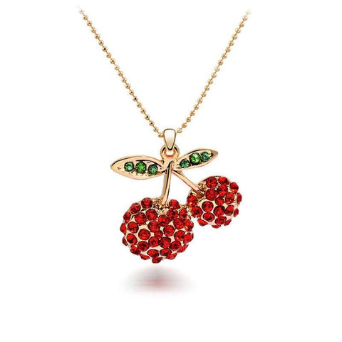 Olivia Welles - Cherry on Top Necklace