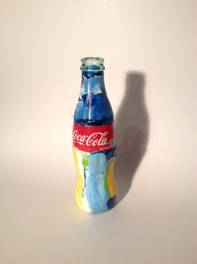 Coca-Cola Bottle Artwork by Yanook