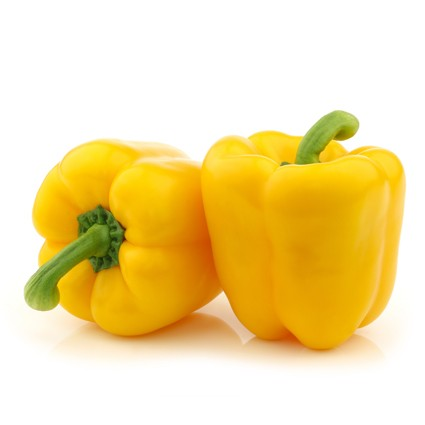 Quanfa Organic Imported Vegetables Capsicum Yellow