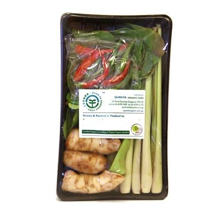 Quanfa Organic Imported Vegetables Tom Yum Set